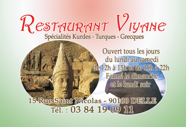 Restaurant Viviane Partenaire des Nuits d'été de Milandre