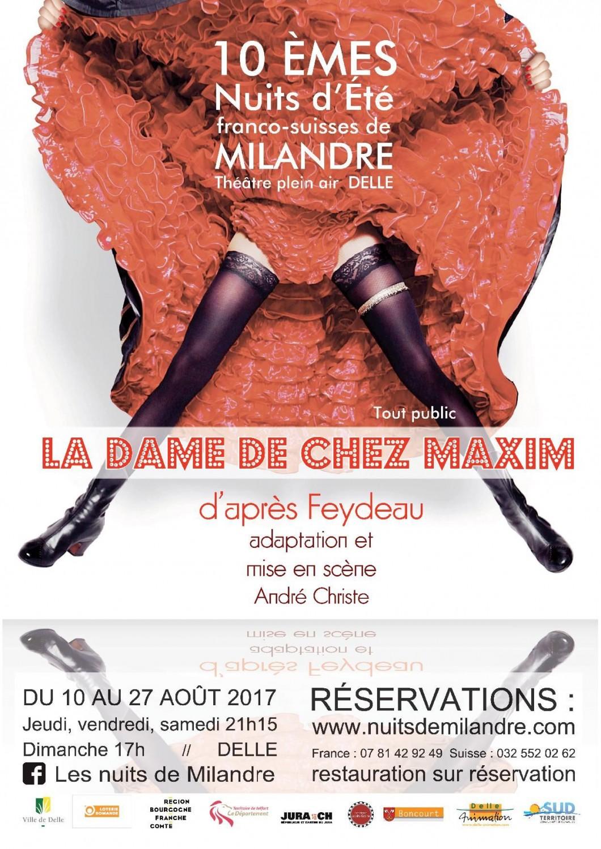La Dame de Chez maxime  - Nuits de Milandre 2017 - Delle
